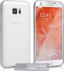 YouSave Accessories Silicone Gel Clear Case (Galaxy S6)