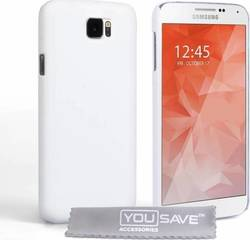 YouSave Accessories Hard Hybrid Case White (Galaxy S6)