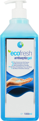 Asepta Ecofresh Antiseptic Gel 1000ml 1τμχ