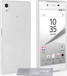 YouSave Accessories Silicone Gel Clear Case (Xperia Z5)