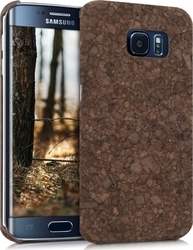 KW Natural Cork Case Brown (Galaxy S6 Edge)