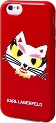 Karl Lagerfeld Monster Choupette HeadShot Red (iPhone 6/6s)