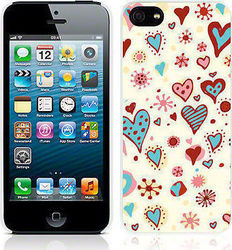 Call Candy Hearts White (iPhone 5/5S/SE)