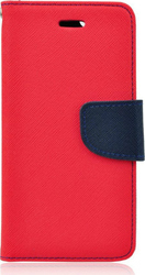 OEM Fancy Diary Red/Navy (Redmi Note 3)