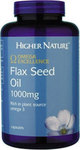 Higher Nature Flax Seed Oil 180κάψουλες