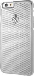 Ferrari Perforated Aluminium Γκρί (iPhone 6/6s)