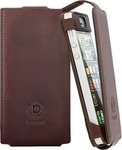 Bugatti Ultra Slim 0.3mm Book Brown (iPhone 5S)