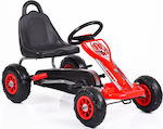 Go Kart Falcon 6605 Red with Air Wheels