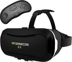 Shinecon VR Headset 2.0 (Bluetooth Remote)