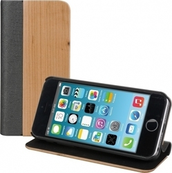 KW Flip Bookstyle Bamboo Leather (iPhone 5/5s/SE)