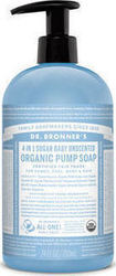 Dr Bronner's Hand & Body Soap Baby Unscented 709ml