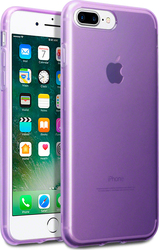 Terrapin TPU Gel Transparent Purple (iPhone 8/7 Plus)