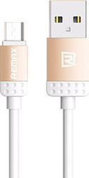 Remax Regular USB 2.0 to micro USB Cable Gold 1m (Lovely)