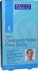 Beauty Formulas Deep Cleansing Nose Pore Strips 6τμχ