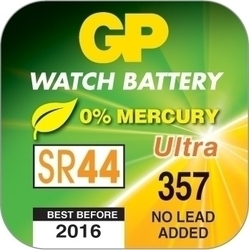 GP Batteries 357 SR44 (1τμχ)