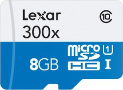 Lexar High-Performance 300x microSDHC 8GB U1