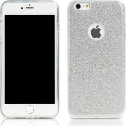 Remax Back Cover Μοτίβο Glitter Silver (iPhone 6/6s)