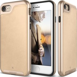 Caseology Envoy Series Leather Beige - Gold (iPhone 8/7)