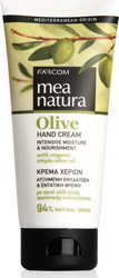 Farcom Mea Natura Hand Cream Intensive Moisture & Nourishment With Organic Virgin Olive Oil 100ml