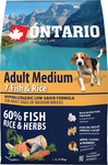 Ontario Adult Medium 7 Fish & Rice 2.25kg