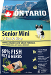 Ontario Senior Mini 7 Fish & Rice 2.25kg