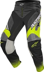 Alpinestars Racer Supermatic Pants Anthracite/Yellow/Light Grey