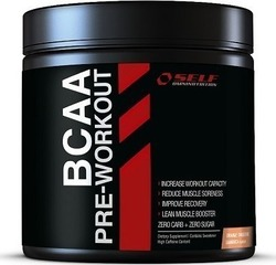 Self Omninutrition BCAA Pre-Workout 350gr Πορτοκάλι Σαμπούκα