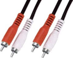 OEM Cable 2x RCA male - 2x RCA male 3m (01.037.0165)