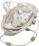 BabyMix Infant Rocking Chair with Music & Vibration Beige Br245