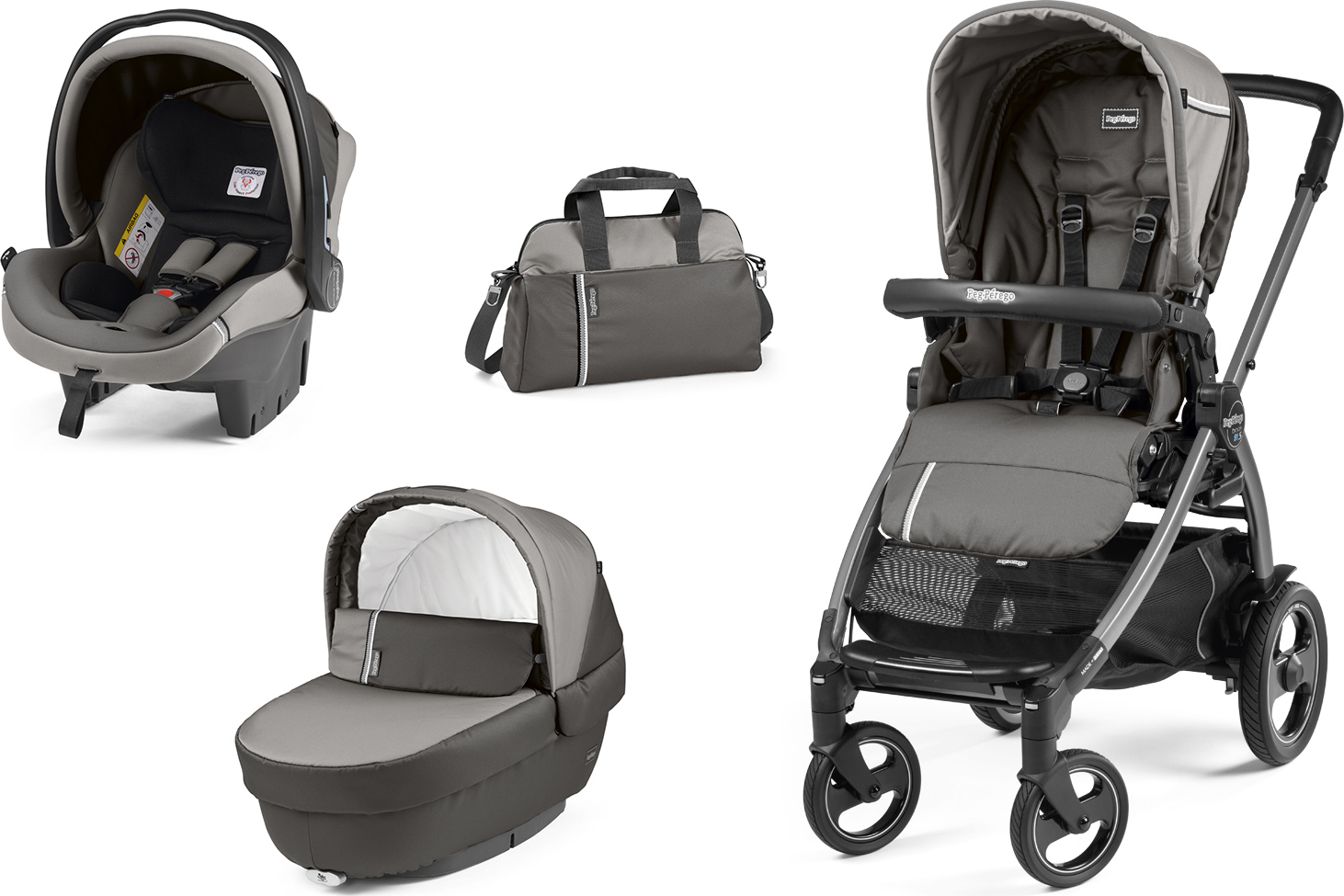peg perego book 51 s jet elite modular 3 in 1 class grey. Black Bedroom Furniture Sets. Home Design Ideas