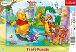 Disney: Winnie The Pooh - The Quest for the Treasure 15pcs (31209) Trefl