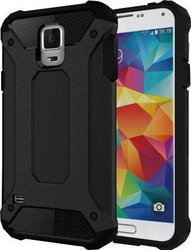 OEM Hybrid TPU/Plastic Μαύρο (Galaxy S5/S5 Neo/S5 Plus)
