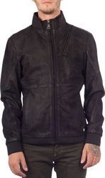 MAYS & ROSE TACOMA LEATHER JACKET - TACOMA-BLK BLACK