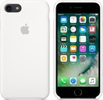 Apple Silicone Case White (iPhone 7)