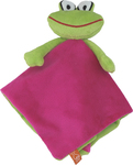 Lipfish Cerise Comfort Blanket With Frog