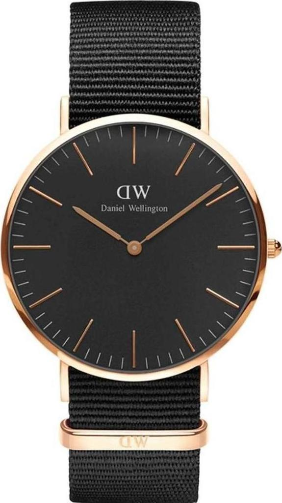 Προσθήκη στα αγαπημένα menu Daniel Wellington Cornwall Classic Black   Rose  Gold 40mm DW00100148 203a8f3ea2c