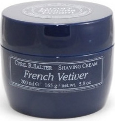 Cyril R. Salter Shaving Cream French Vetiver 165gr