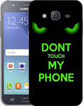 OEM Back Cover Σιλικόνης Don't Touch My Phone (Galaxy J5 2016)