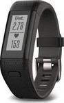 Garmin Vivosmart HR + Black (EU Menu)