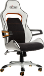 Nitro Concepts E220 Evo Gaming Chair – White-Orange