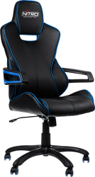 E200 Race Gaming Chair – Black-Blue Nitro Concepts