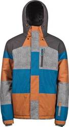 PROTEST HONOUR SNOW JACKET ORANGE PEPPER