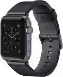 Belkin Classic Leather Band Black (Apple Watch 42mm)