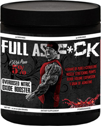 Rich Piana 5% Nutrition Full As F*ck 360gr Wild Berry
