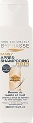 Byphasse Family Hair Conditioner Shea Butter And Honey Dry And Damaged Hair 400ml