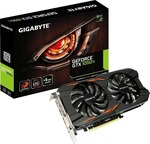 Gigabyte GeForce GTX1050 Ti 4GB Windforce OC (GV-N105TWF2OC-4GD)