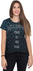 RELIGION T-Shirt WILD IN THE DARK TEE