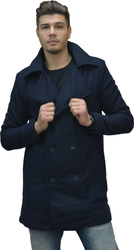 COAT CULE WOOL DARK BLUE (9516914.BL)