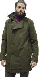 COAT CULE WOOL GREEN (9516914.O)