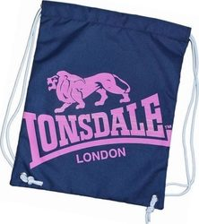 Lonsdale Gym Sack - Navy Pink 702182